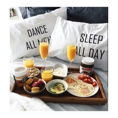 Brunch clipart bed. Caff at breakfast my