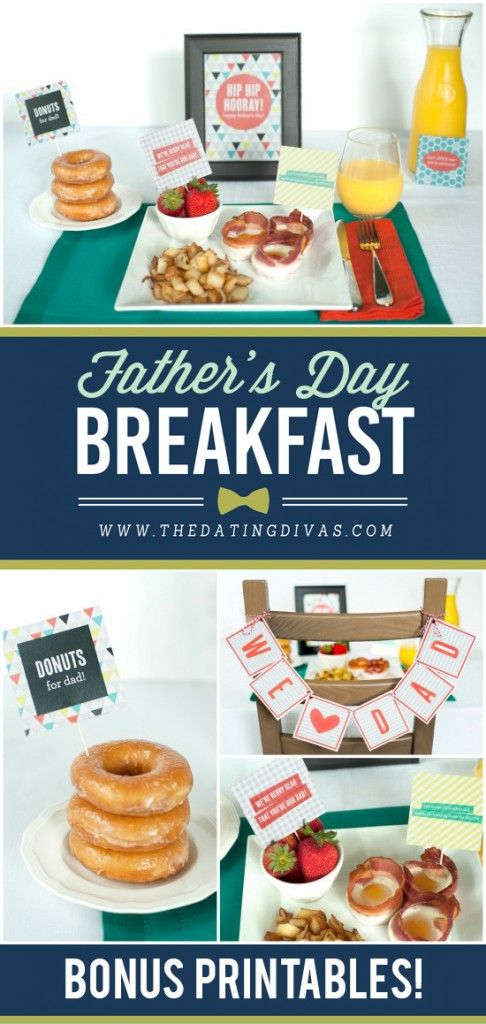 best fathers day. Brunch clipart bed