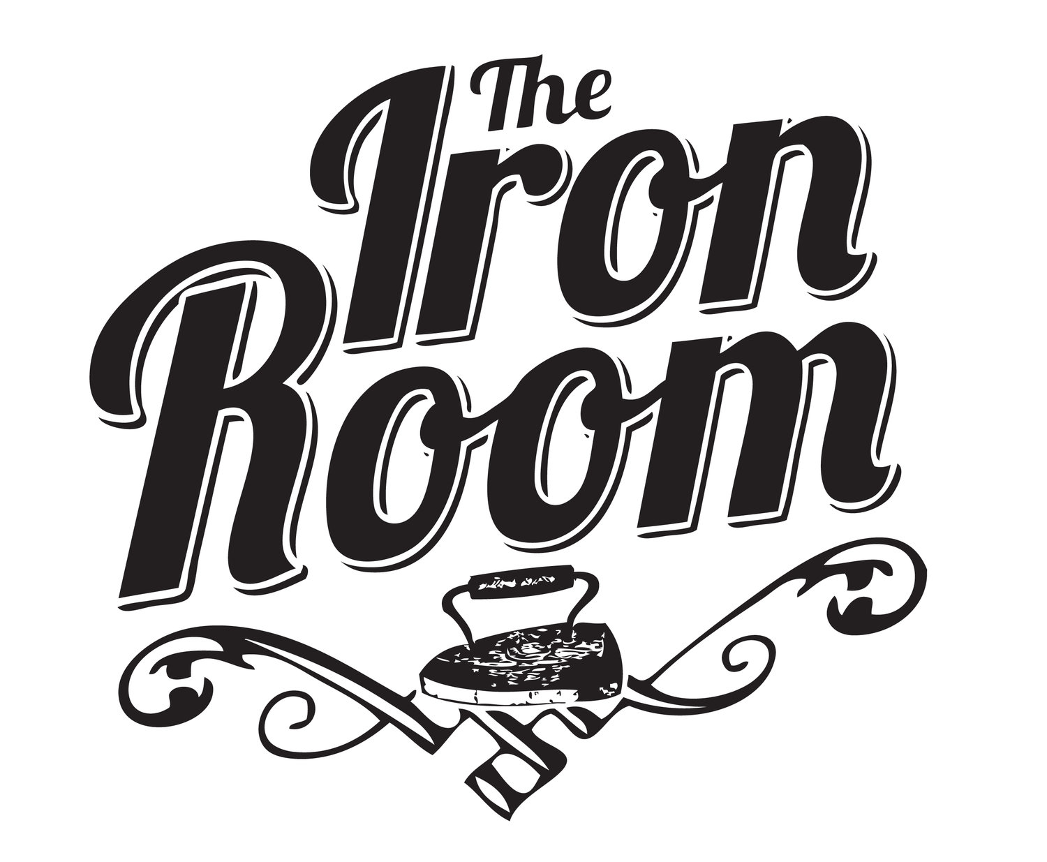 The iron room thanksfortheinvite. Brunch clipart black and white