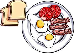 Sunday food . Brunch clipart breakfast
