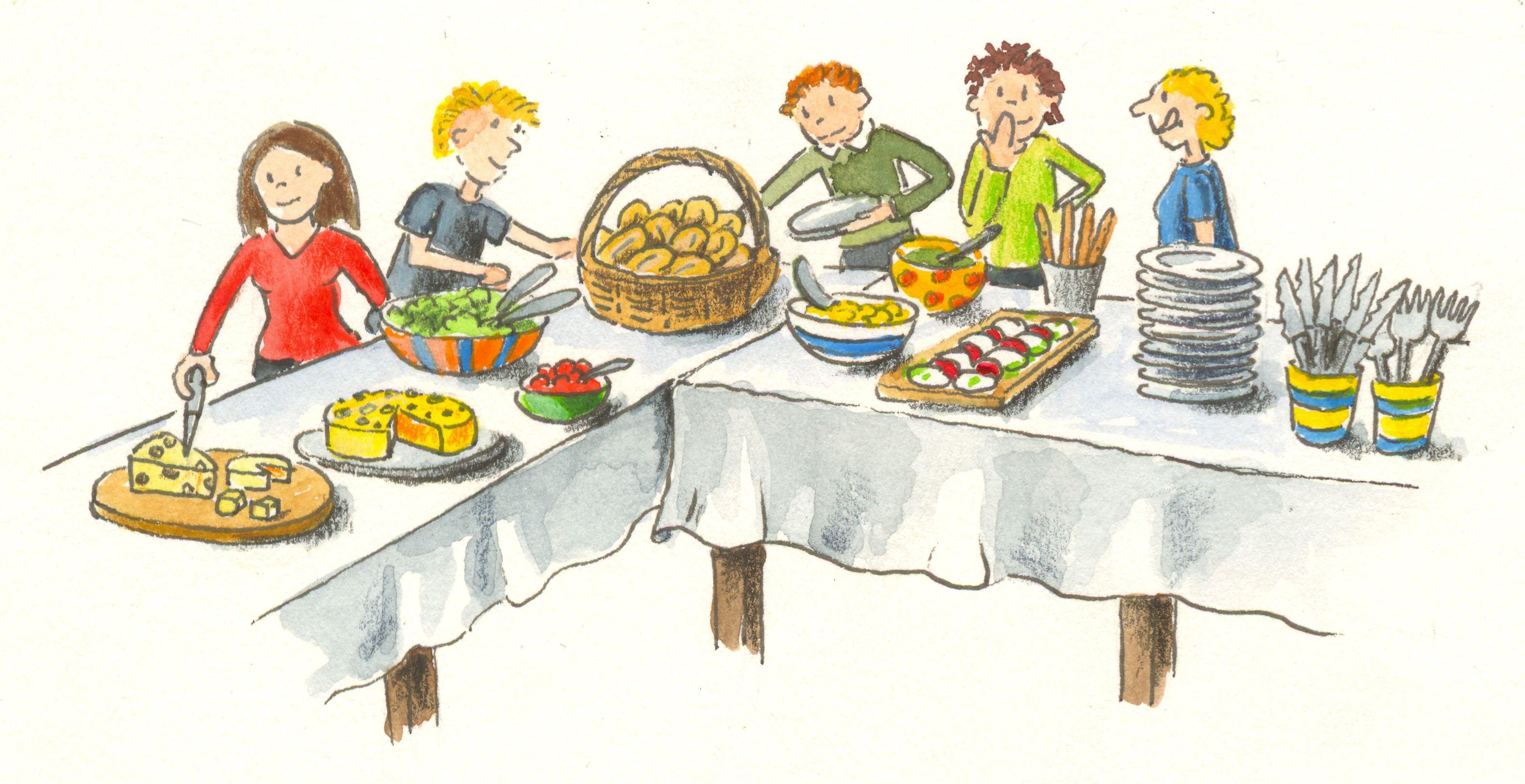Diner clipart buffet lunch. Brunch breakfast clip art