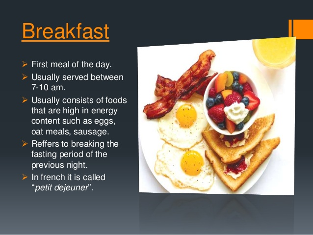 Types of meals and. Brunch clipart breakfast continental