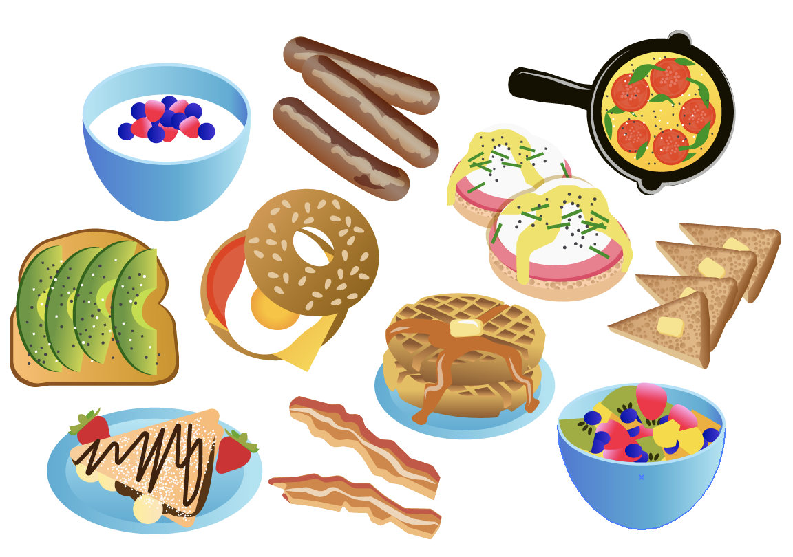 Clip art this is. Brunch clipart breakfast food