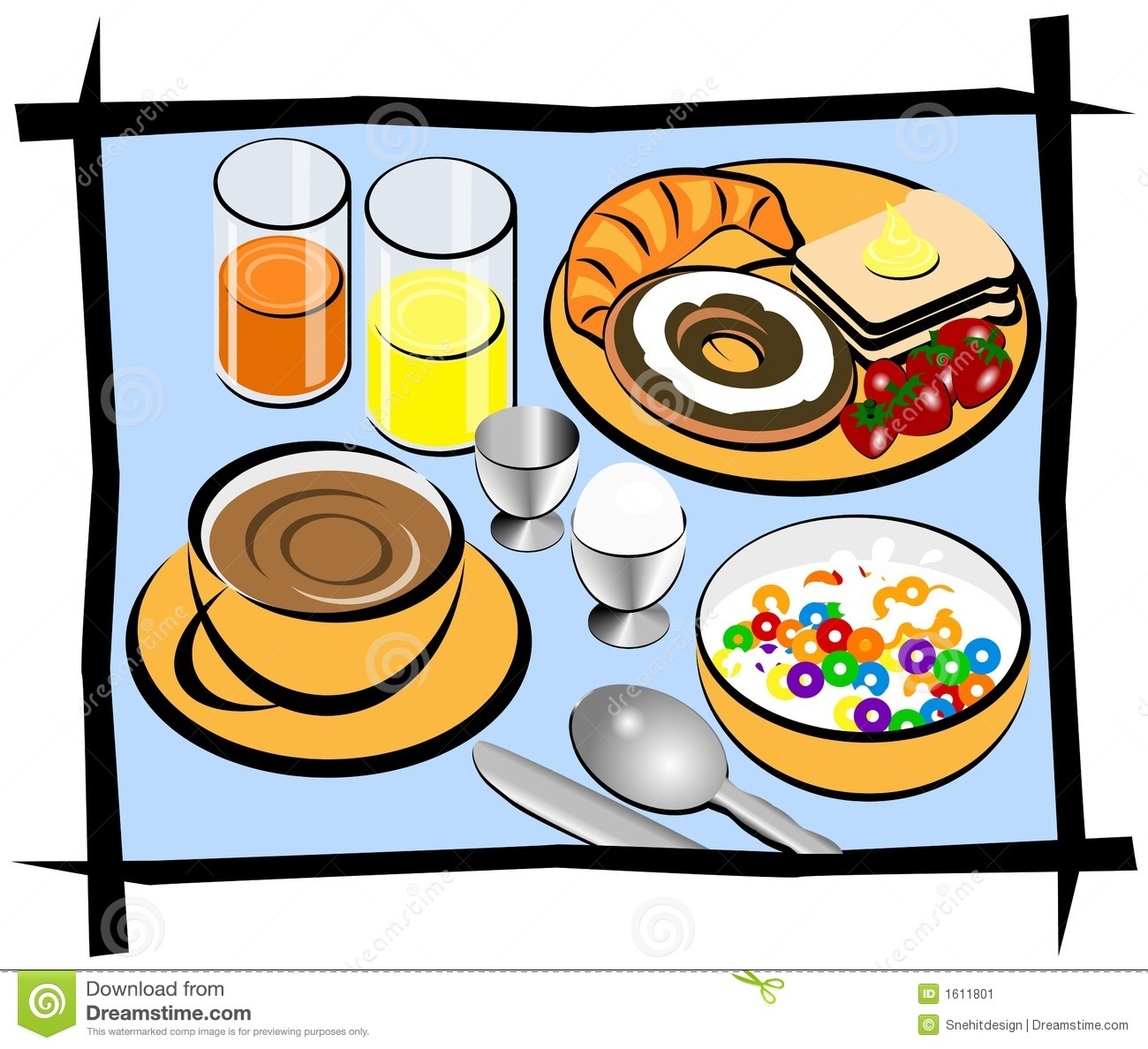 collection of free. Brunch clipart breakfast potluck