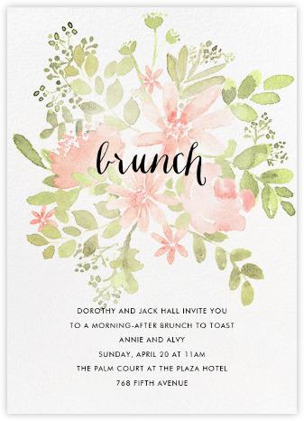 Wedding invitations online at. Brunch clipart brunch word