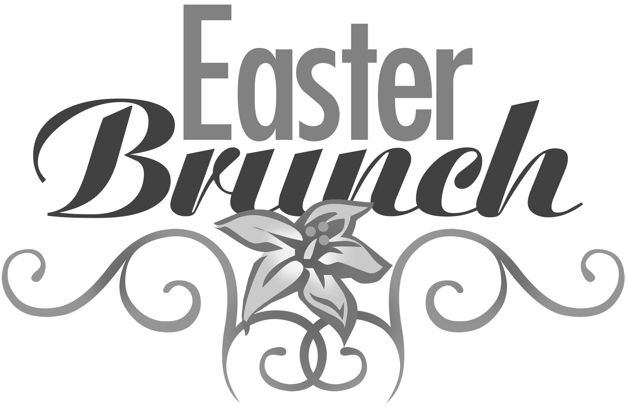 Plymouth united methodist church. Brunch clipart easter
