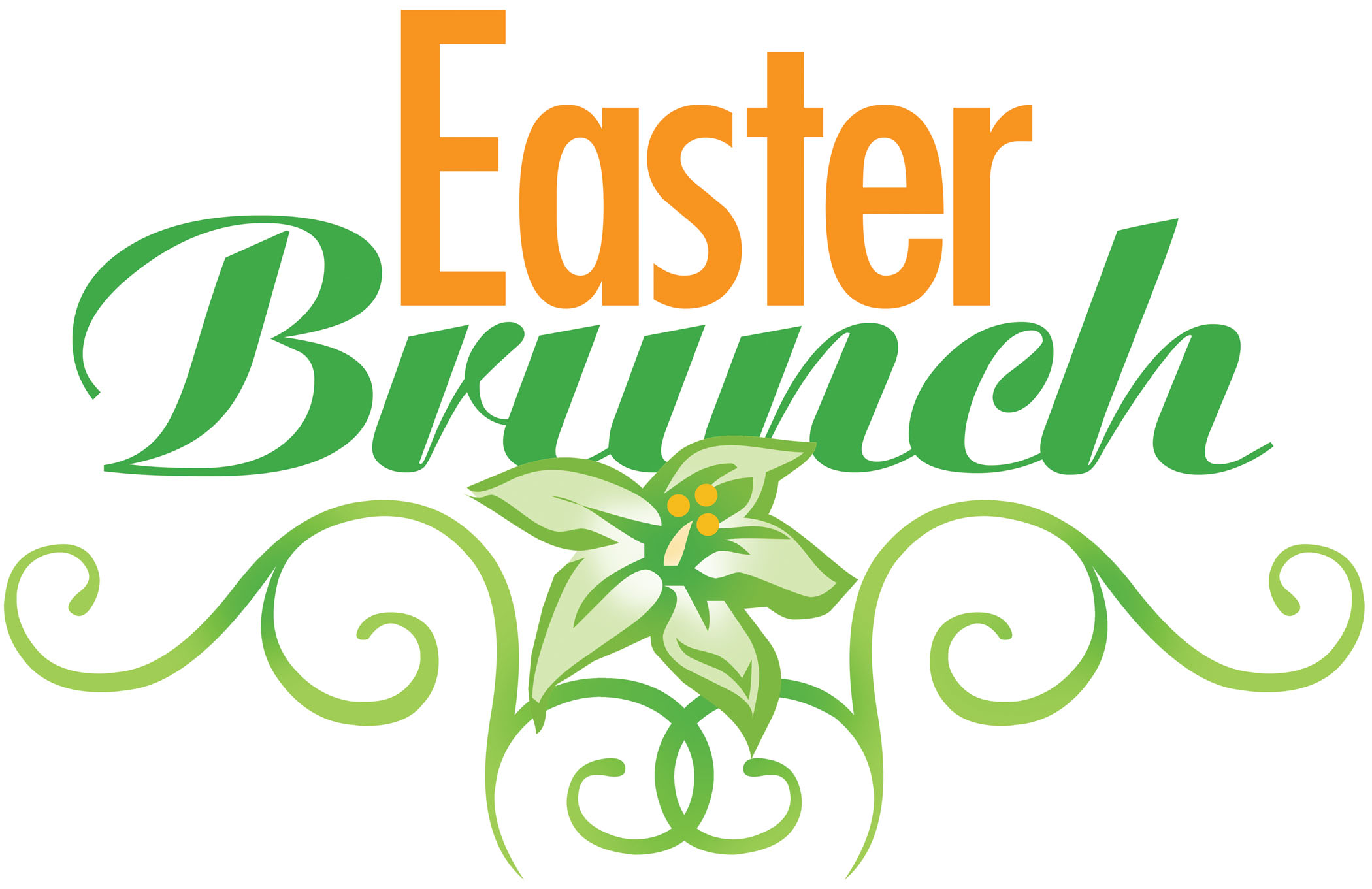 Sunday clip art free. Brunch clipart easter