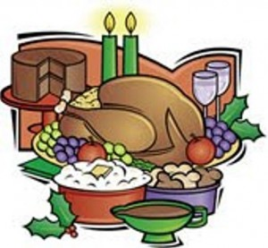 Feast clipart holiday buffet. Free dinner cliparts download