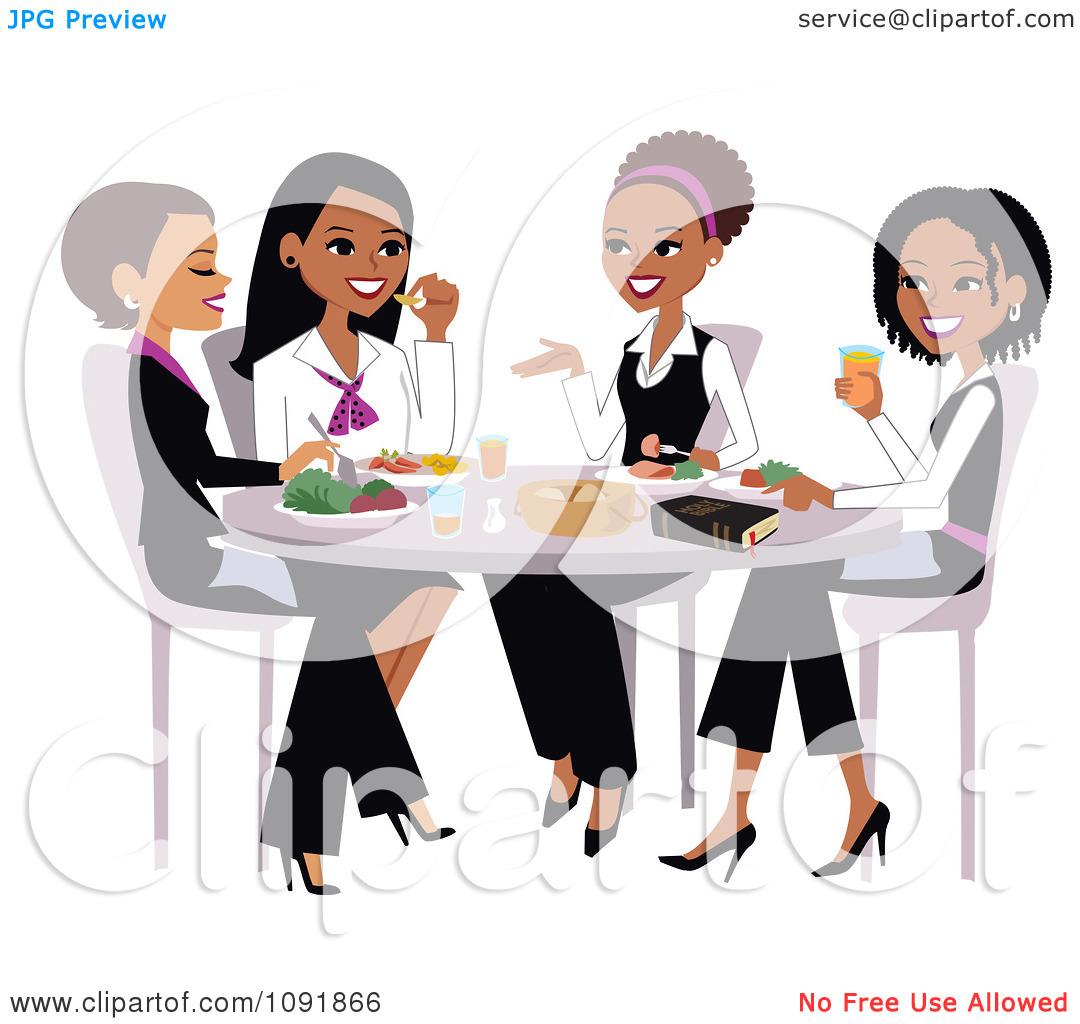 Church womens . Brunch clipart lunch