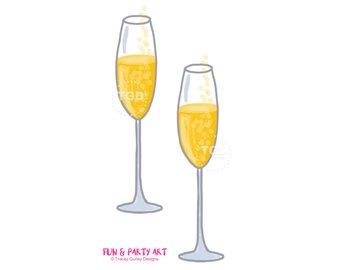 Mimosa clip art champagne. Champaign clipart bubbly
