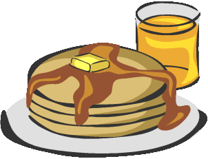Church cliparts zone . Brunch clipart pancake breakfast