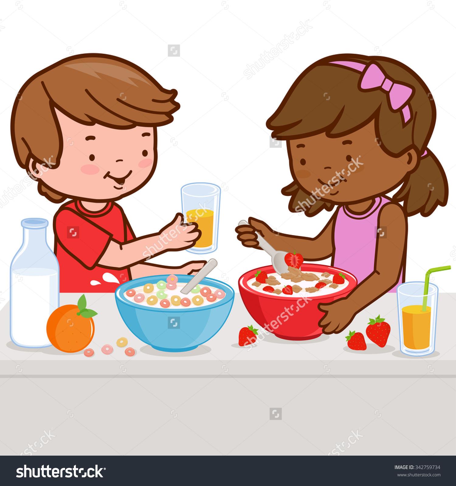 cereal clipart preschool #40915156