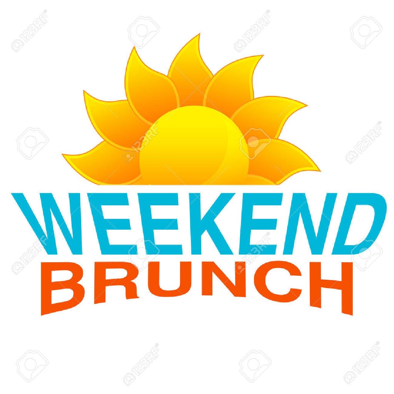 Brunch clipart saturday. Free download best on