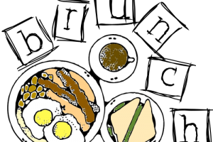 Brunch clipart saturday. B download station page