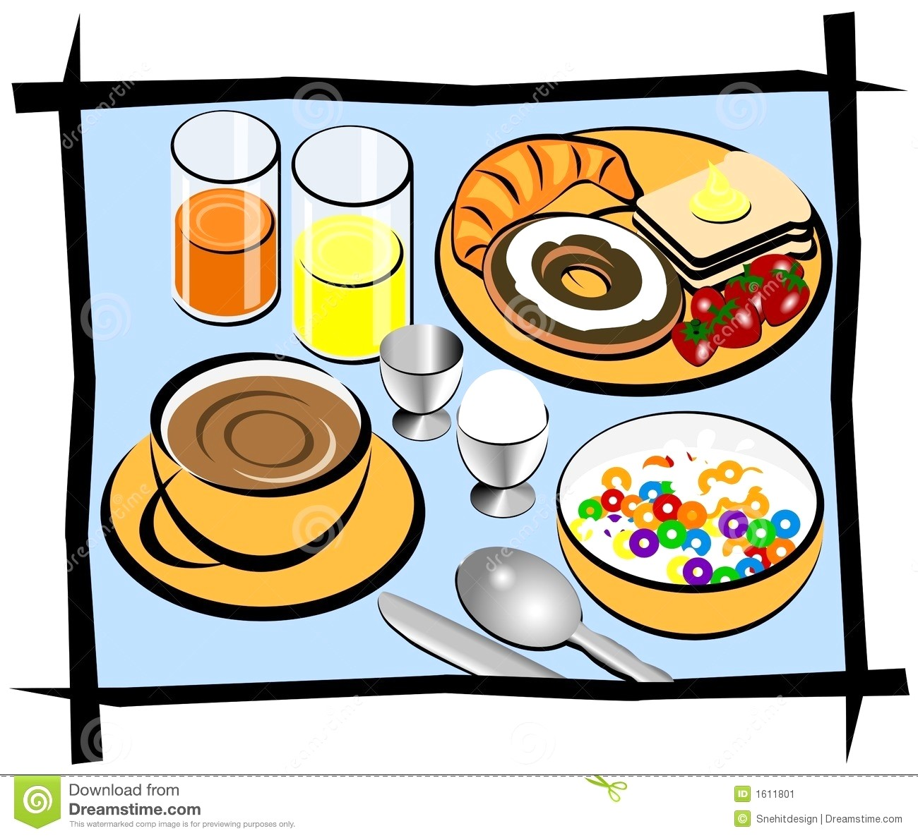 Station . Brunch clipart saturday