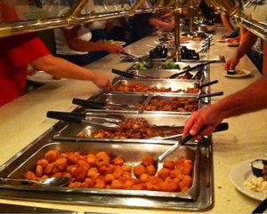 Brunch clipart seafood buffet. Best buffets in myrtle