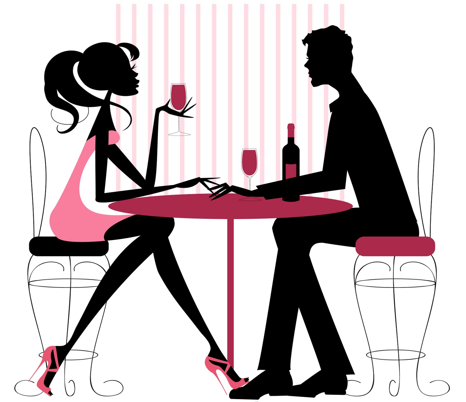 Diner clipart group dating. Silhouette brunch menu at
