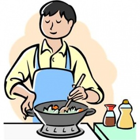 Free make cliparts download. Cooking clipart cook dinner