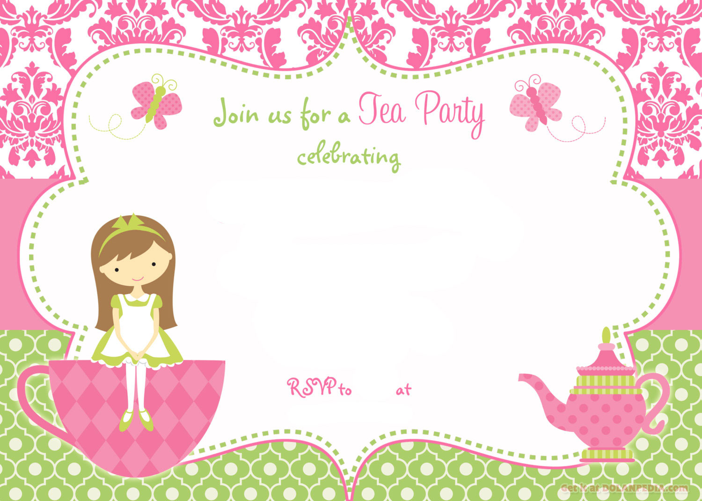 Party templates incep imagine. Brunch clipart tea time