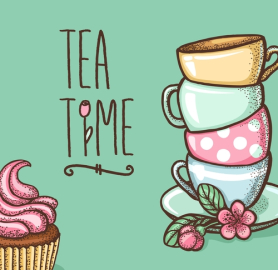 easy tips for. Brunch clipart tea time
