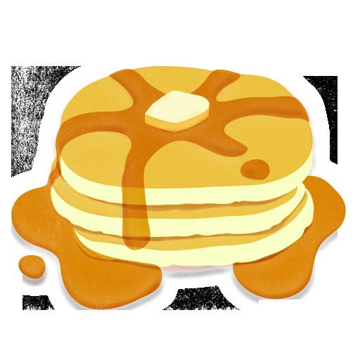 Pancake png images free. Brunch clipart transparent background
