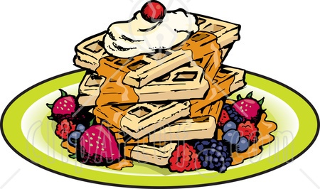 Waffle clipart brunch. Holiday clip art library