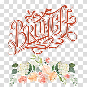 Transparent background png cliparts. Brunch clipart wedding
