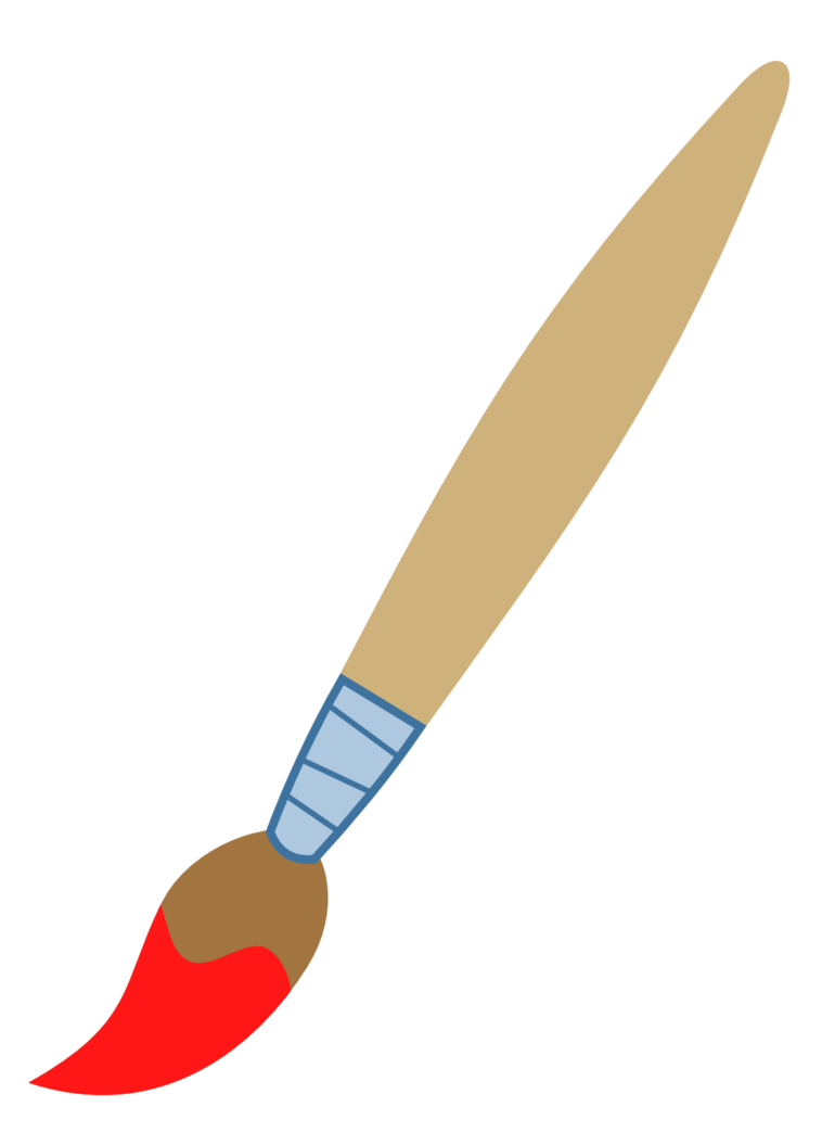 Clipart hammer paintbrush. Clip art best