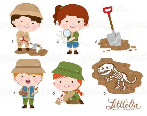 Brush clipart archaeology.  best adventures images