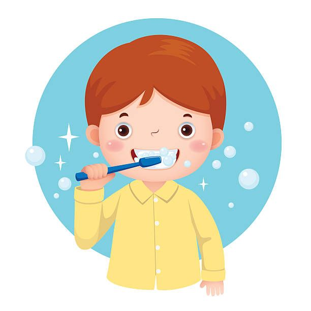 Image result for brush. Tooth clipart boy