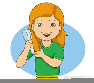 Brush clipart cartoon hair. Free images at clker