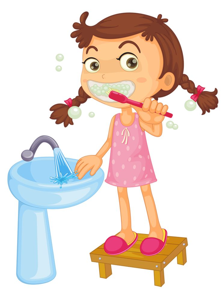 best for the. Brush clipart child