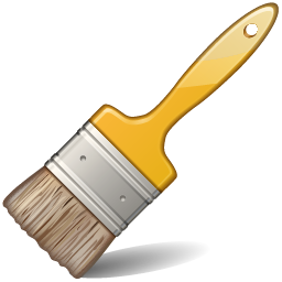 Paintbrush artist paint free. Brush clipart clip art