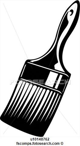 Brush clipart clip art. Paint bay