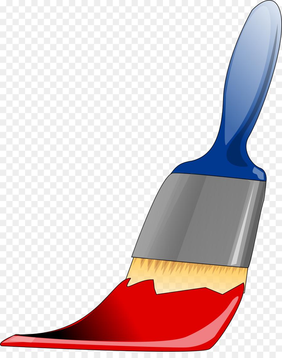 Paint brush cartoon painting. Paintbrush clipart bursh