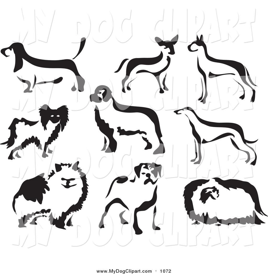 Clip art of black. Brush clipart dog brush