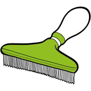 Brush clipart dog brush. Grooming pet shop direct
