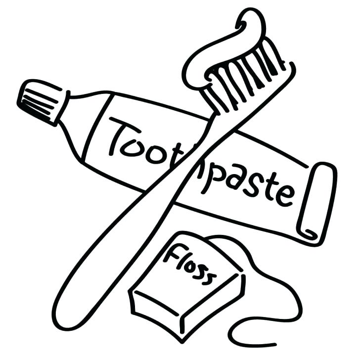 Brush clipart floss. Your teeth drawing at