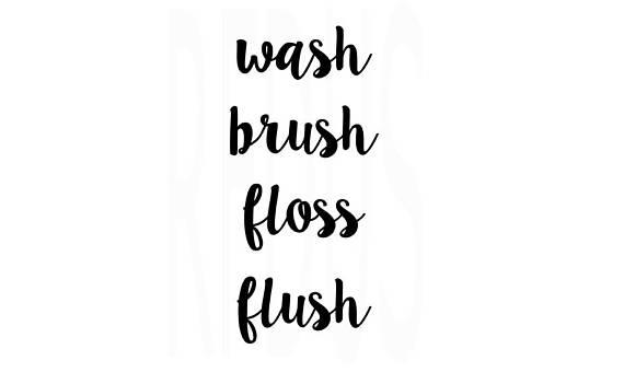 Wash flush svg sorry. Brush clipart floss