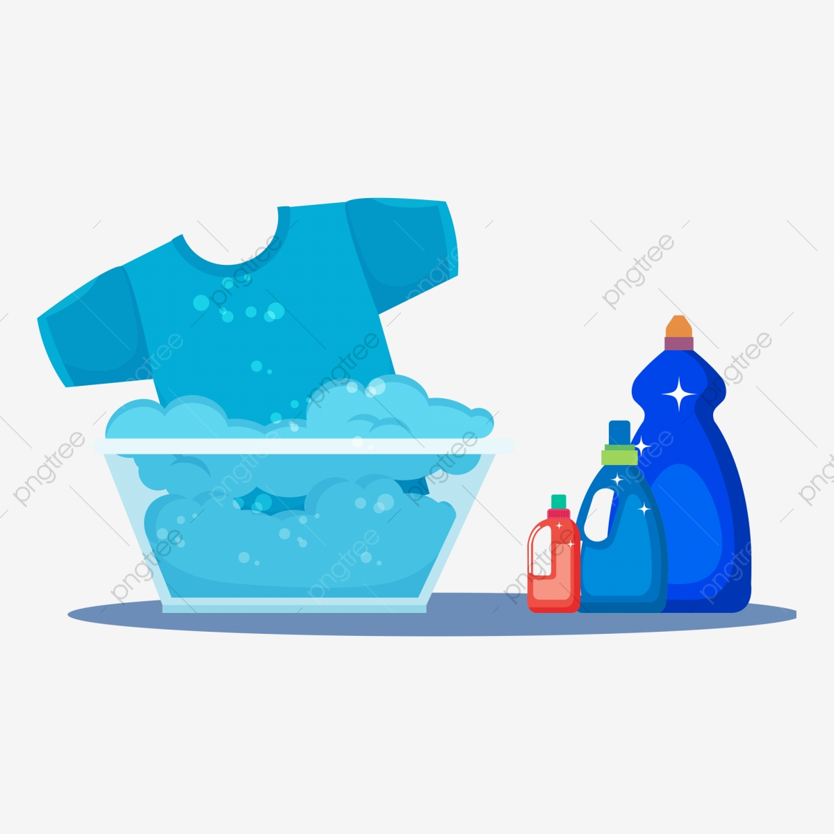 Supplies cleaning product washing. Brush clipart laundry