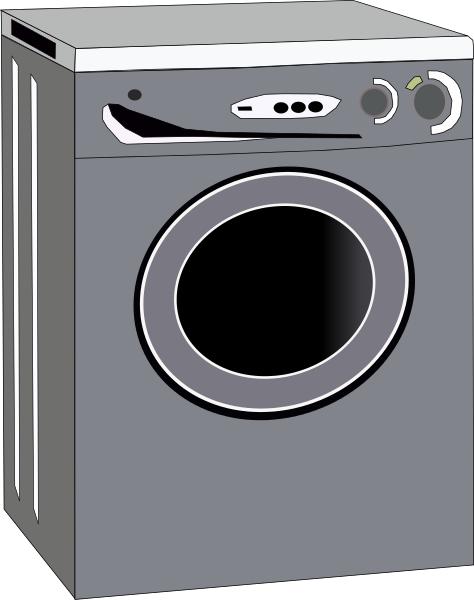 Free washing machine page. Brush clipart laundry
