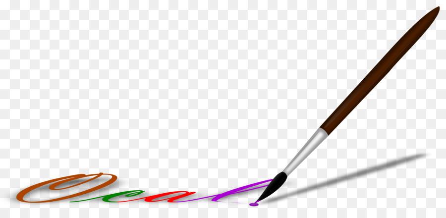 Brush clipart line art. Artist clip watercolor png