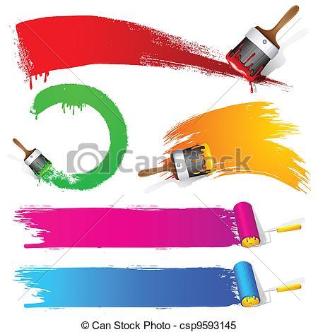 Paint Brush Stroke clipart