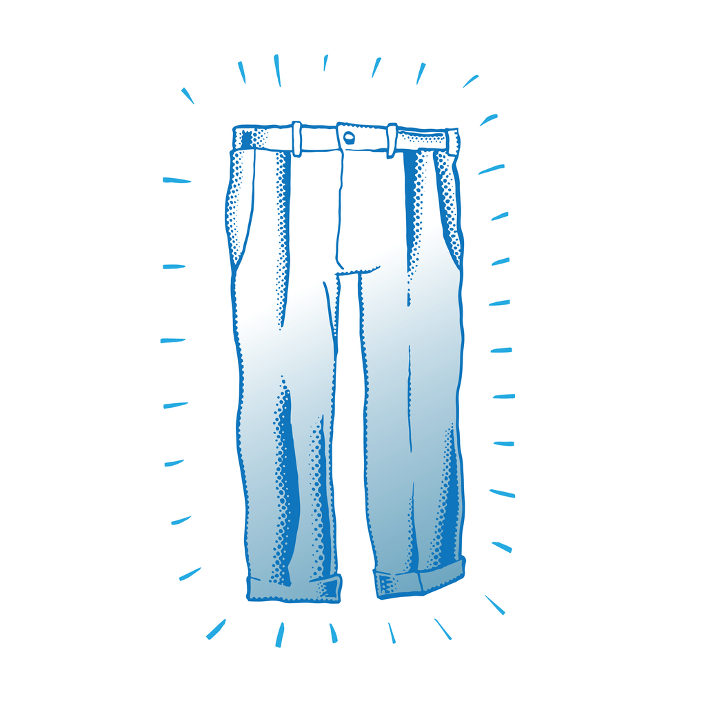 Brush clipart pant. Thoughts on silver pants