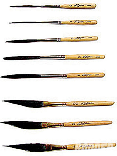 best paint brushes. Brush clipart pinstriping