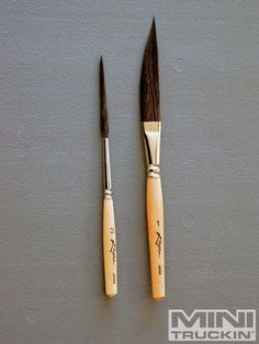 How to pinstripe custom. Brush clipart pinstriping
