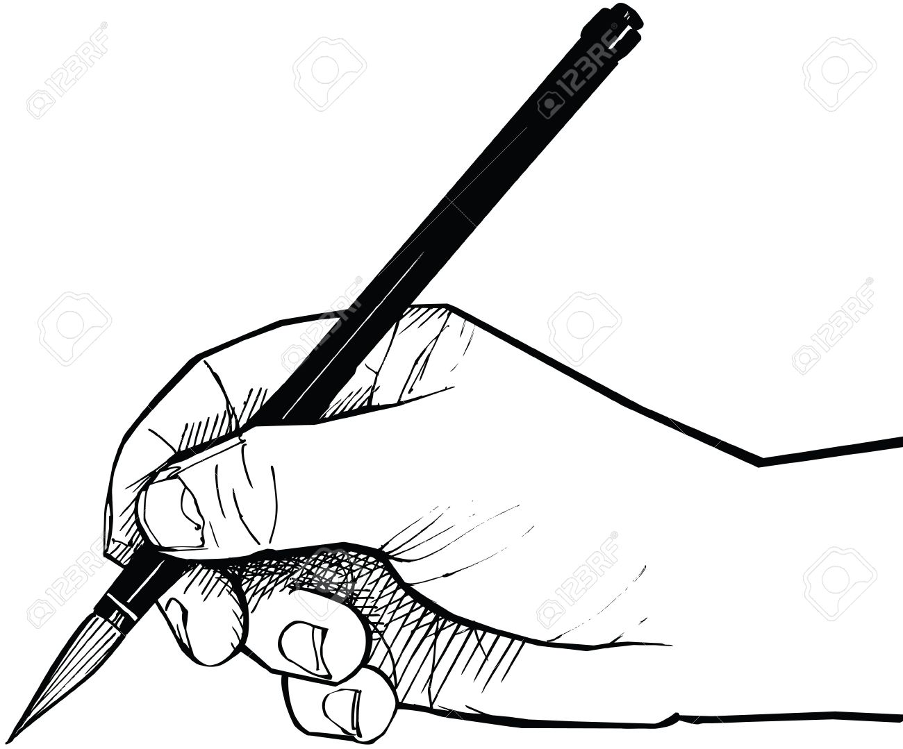 Brush Drawing at GetDrawings