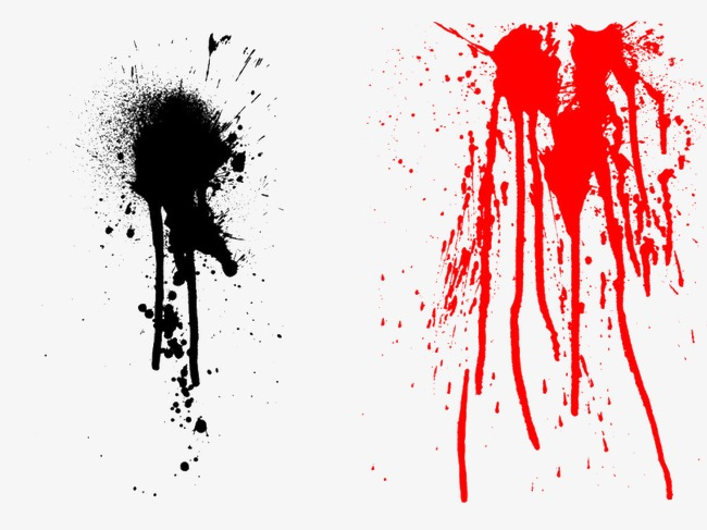 Paint effect png image. Brush clipart splash