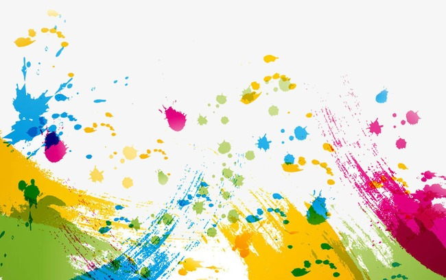 Paint painting imprinted png. Brush clipart splash