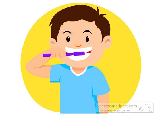 brush teeth clipart dental clipart little boy brushing teeth dental